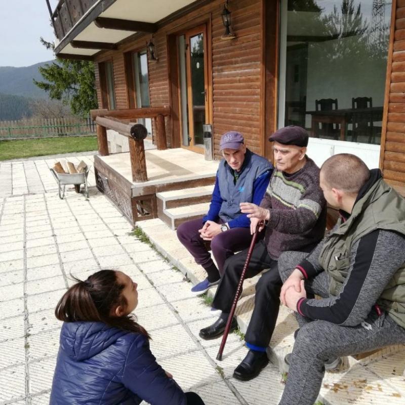 Дом за стари хора Валис 2  Говедарци, община Самоков, област София